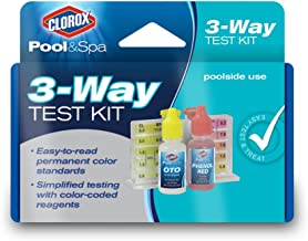 Clorox Pool&Spa 70000CLX 3-Way Test Kit, Blue, Package may vary
