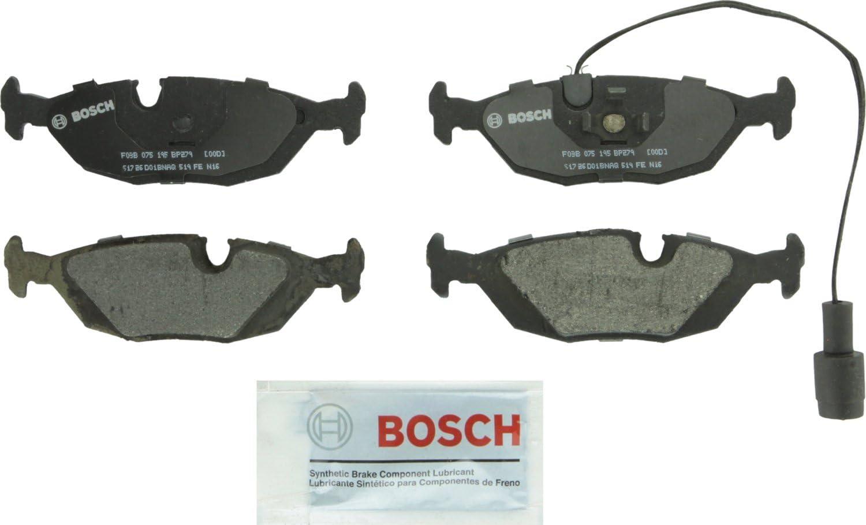Bosch BP279 QuietCast Premium Trust Semi-Metallic Brake Set Disc Deluxe F Pad