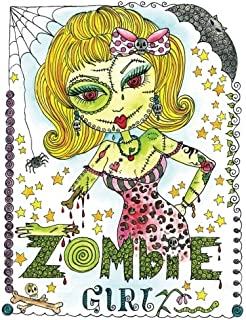 Best zombie drawing girl Reviews
