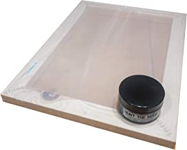 Hunt The Moon Screen Printing Frame and Ink Kit, Wooden, Large A3 55t