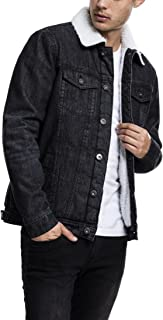Urban Classics Sherpa Denim Jacket Giacchetto Uomo