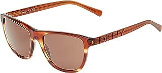 Dkny Wayfarer Women's Sunglasses - DKNY 4103 3578/73-56-18-140 mm
