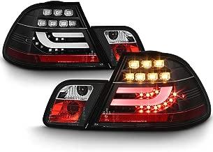 ACANII - For 2000-2003 BMW E46 3-Series 2-Door Coupe Lumileds LED Light Bar Tail Lights Brake Lamps Driver & Passenger