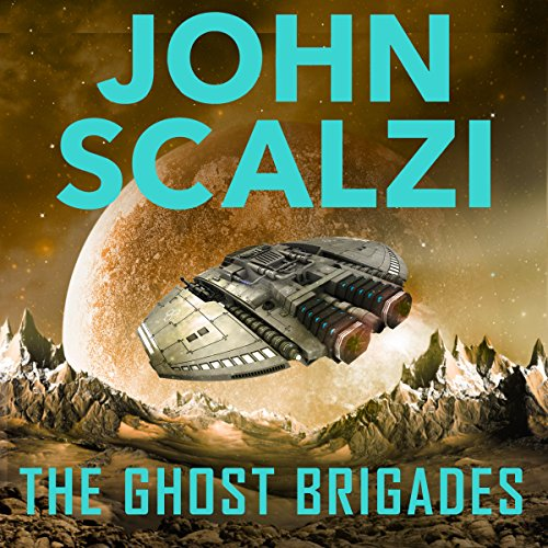 The Ghost Brigades audiobook cover art