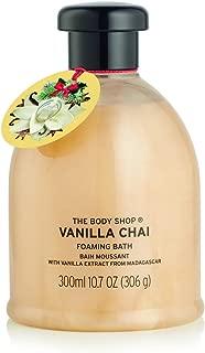 The Body Shop Vanilla Chai Bath Foam, Seasonal Edition Foaming Bubble Bath, 300ml