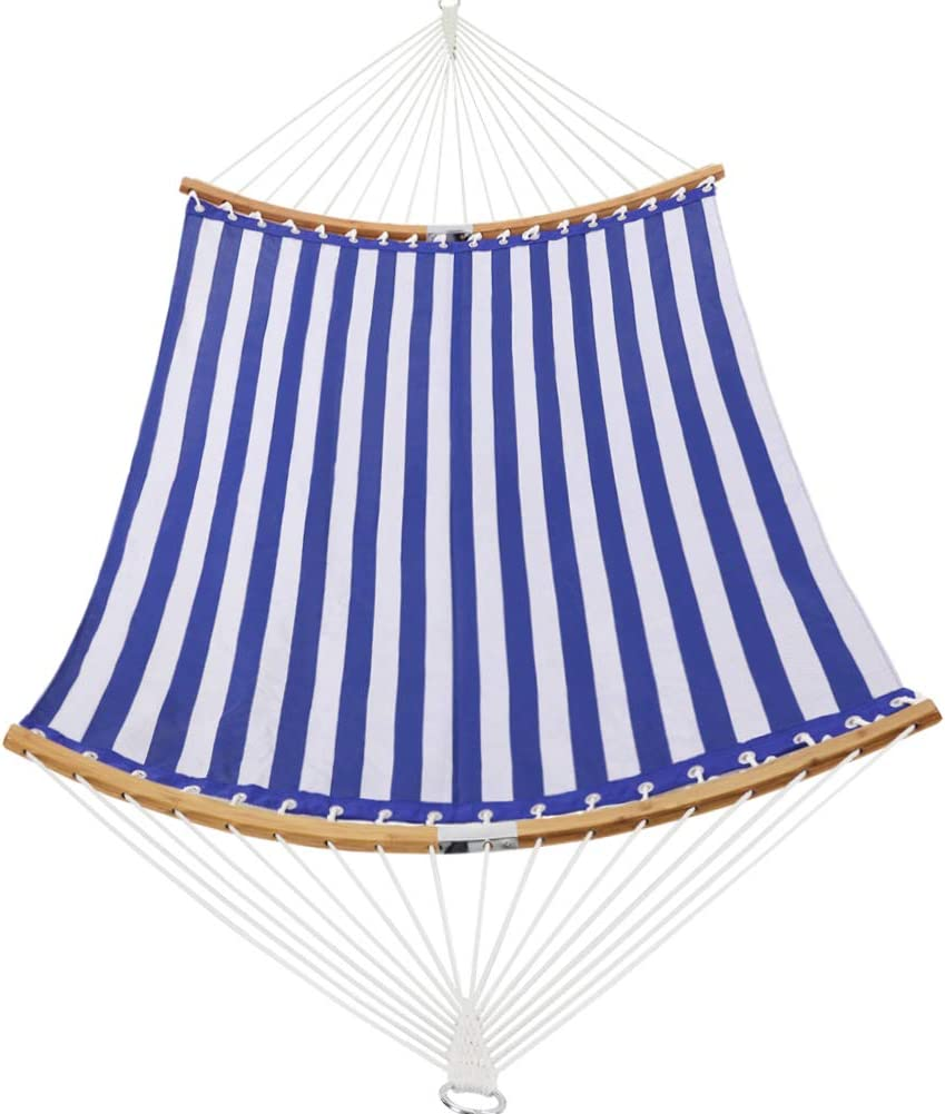 All items free shipping Patio Watcher 14 FT Quick Dry Curved Folding Spre Hammock Indianapolis Mall Bamboo