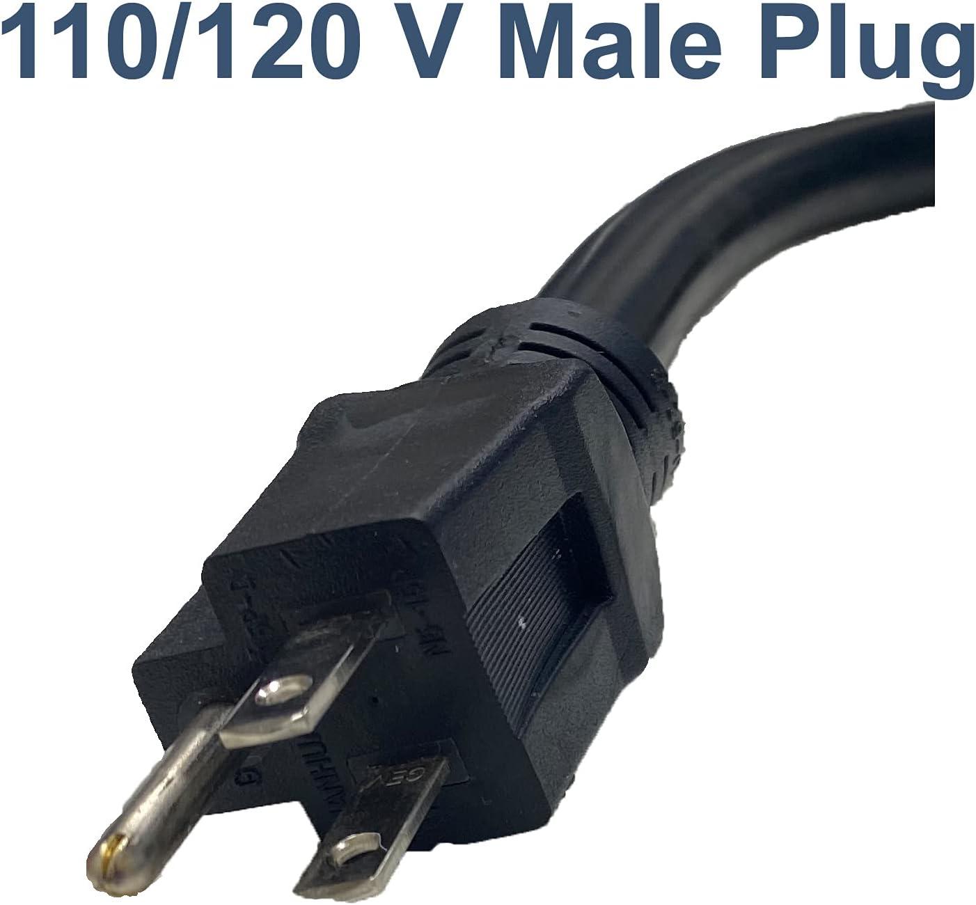 LOTOS PT01 Pigtail Type 1, Convert 220V to 110V for LT5000D/LTP5000D/LTPDC2000D/CT520D, Blue (520D, Black: Tools & Home Improvement