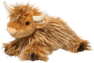 Douglas Wallace Scottish Highland Cow Plush Stuffed Animal