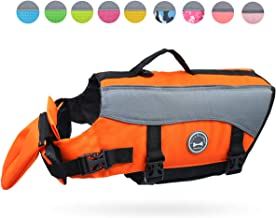 Vivaglory Dog Life Jackets with Extra Padding Pet Safety Vest for Dogs Lifesaver Preserver