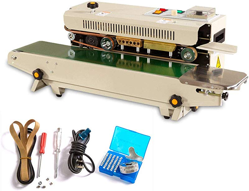 Automatic Sealing Machine FR 900 Package Horizontal Continuous Plastic Bag Band Packing Sealer US STOCK