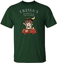 Tressa's Trinkets and Treasures – Octopath Traveler – Tressa – Unisex T Shirt – Nerd Geek Apparel Funny