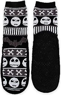 Disney Nightmare Before Christmas Womens Slipper Socks