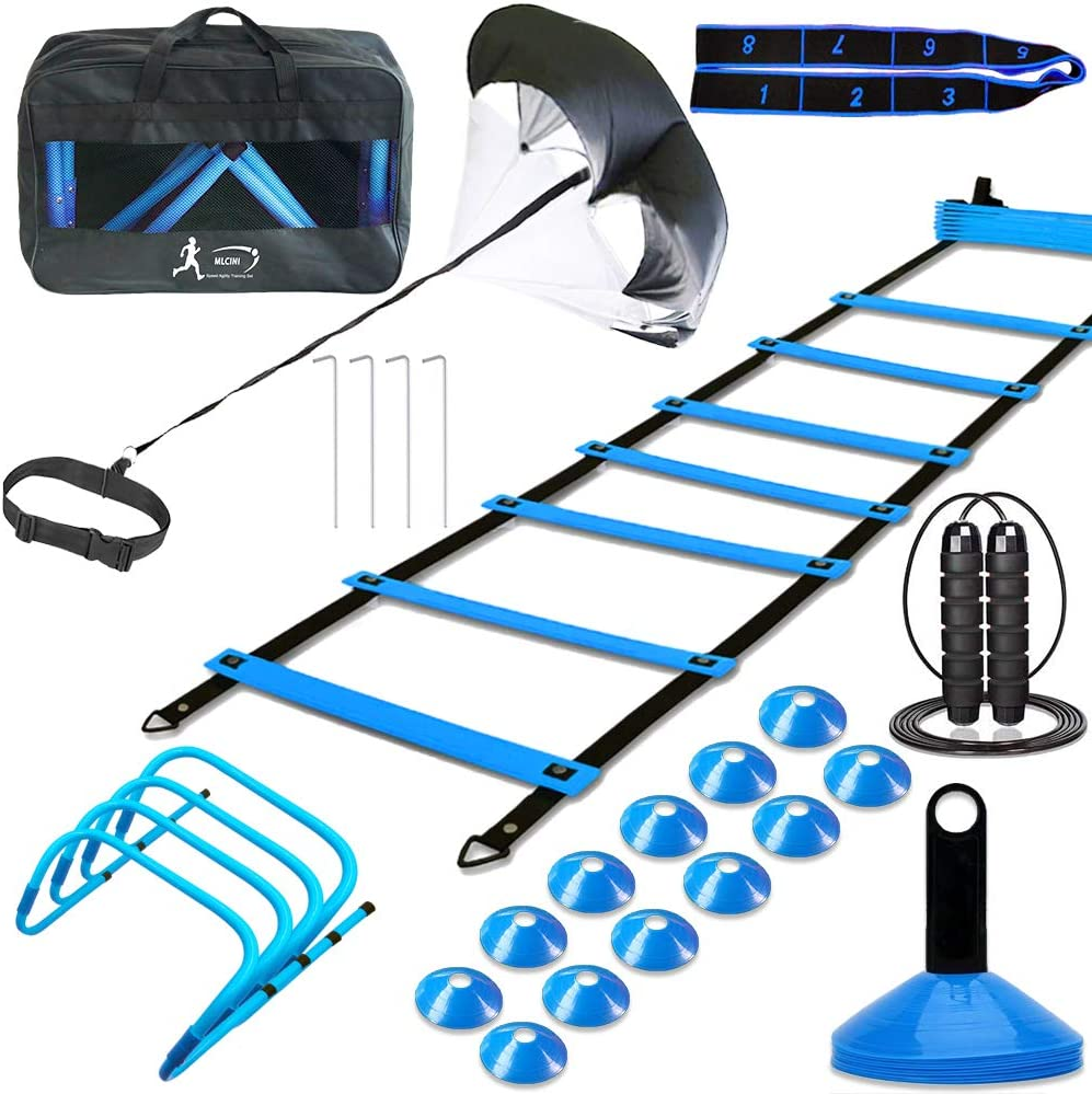 MLCINI Agility Ladder 1 Equipment Limited time trial price 35% OFF Resistance Training