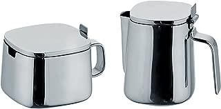 alessi sugar bowl and creamer