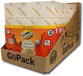 GF Harvest Gluten Free GoPack Single Serve Oatmeal Pack, Original, 10 Count