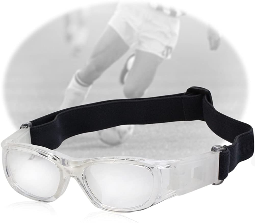 Top of top store Niños Deportes Gafas Niños Baloncesto Fútbol Ciclismo Gafas PC Lente Suave Gel Protector Gafas
