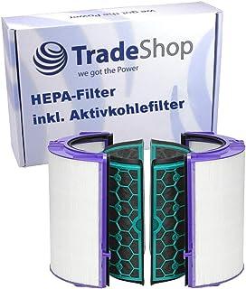 Ersättning HEPA-filter kompatibelt med Dyson HP04 TP04 DP04 Pure Cool luftrenare fläkt och inre aktivt kolfilter