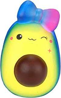 Malbaba Kawaii Jumbo Temperature Color Change Animal Slow Rising Squishies Scented Squishy Squeeze Toy Reliever Stress Toy (13 * 9 cm, Normal)