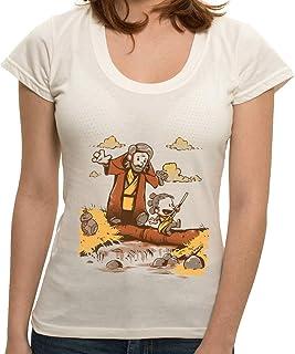 - Camiseta Luke e Rey - Feminina