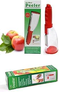 Vegetable Peeler with Container Storage Box Potato Peelers Kitchen Peeler Slicer Shredders for Kitchen Vegetables Fruits S...