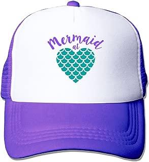 Mermaid at Heart Mesh Unisex Great Trucker Baseball Cap