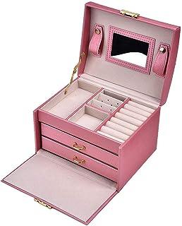 Jewelry box, jewelry organizer box, compact for storage