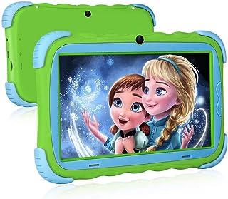 iRULU Tablet per Bambini: Display IPS da 7 Pollici per la Protezione degli Occhi, 16 GB di Rom, Doppia Fotocamera, Control...