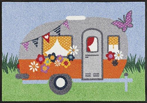 Kennbava Deurmat, voetenveger, deurmat, camping, caravan en outdoor, ca. 50 x 75 cm.