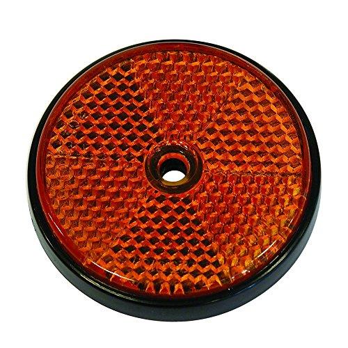 Carpoint 0413960 Reflectores Redondos 70mm Naranja 2-Piezas