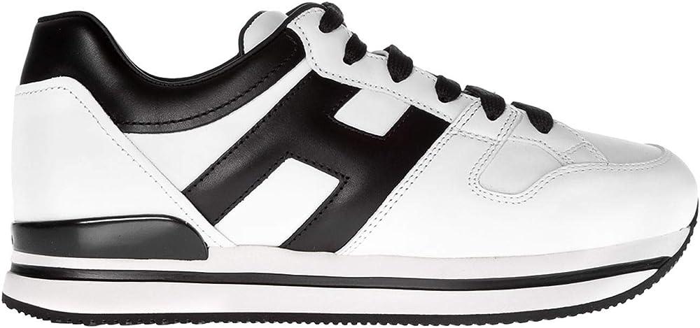 Hogan sneakers per donna in vera pelle HXW2220T548HQK0001