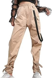 XXXITICAT Women's Chic Fashion Stand Collar Shorts Aviator Coats Windbreaker Long Sleeve Cropped Motorcycle Bomber Jackets