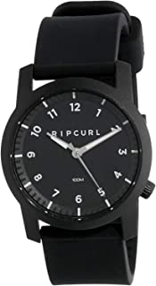 Rip Curl Men's Cambridge Silicone Watch Stainless Steel Waterproof Blue