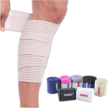Amazon Com Mcolics Elasticity Calf Thigh Support Knee Brace Leg