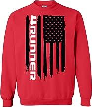 Wheel Spin Addict Men's 4Runner SR5 TRD American Flag Sweatshirt
