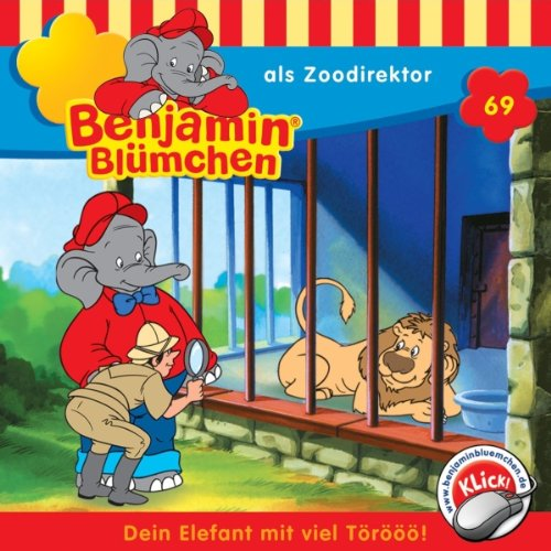 Benjamin als Zoodirektor cover art