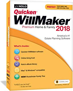 Quicken Family Lawyer 2017