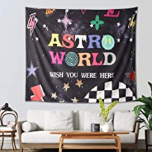 Tra-vis SCO-tt Astro-World Tapestry, 3D Boutique Art Wall Tapestry Wall Hanging Tapestries Galaxy Tapestry Starry Sky Tape...