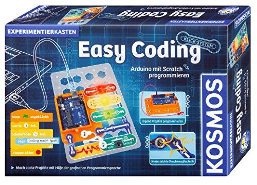 KOSMOS 613150 Easy Coding - Arduino programmieren mit Scratch, Experimentierkasten für Kinder