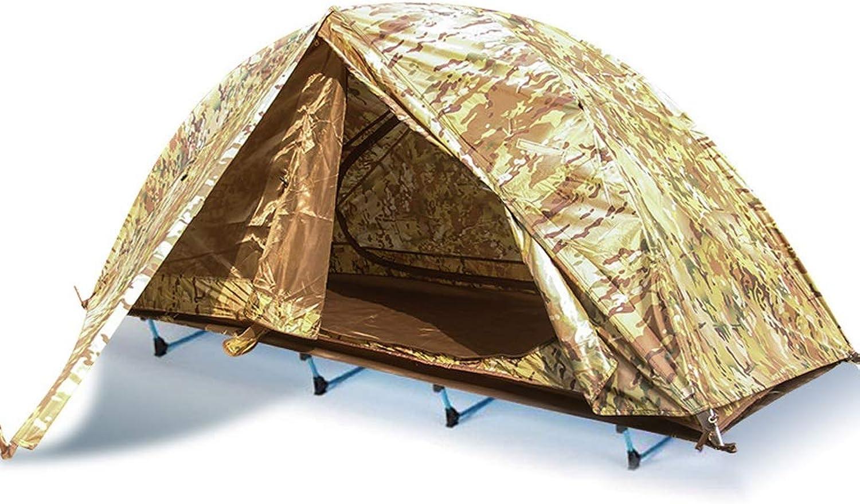 CHEXIAO Verlassen des Bodenzeltes, Ultralight Outdoor Hiking Camping Zelt Angeln Wandern Und Tarnen Offene Zelte Und Klammern
