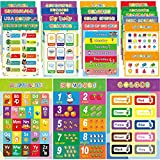 20 PCS Educational Posters for Toddlers and...