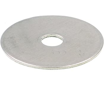 """25 Stainless Steel 18-8 Flat Finish Washers. Qty 3//8/""""×1-1//2/"""" Fender washers"""
