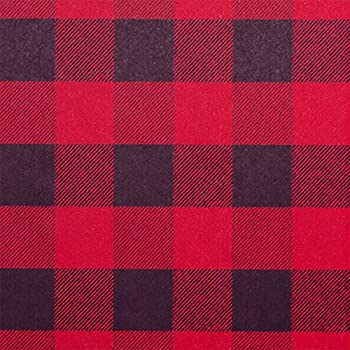 Christmas Buffalo Check Plaid Gift Wrapping Roll 24  X 15  - Holiday Gift Wrap Paper