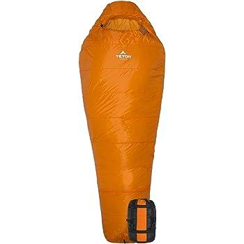 TETON Sports ALTOS Lightweight Mummy Sleeping Bag; Camping, Hiking, Backpacking