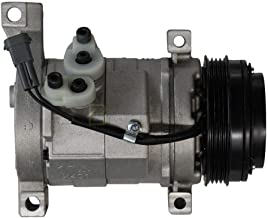 MOTOOS 25940200 New A/C Compressor and ac Clutch Fit for Chevy Chevrolet GMC Cadillac and Hummer H2 H3 H3T