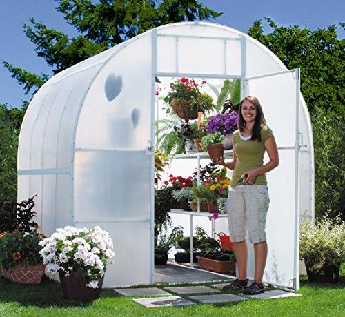 Solexx Gardeners Oasis Greenhouse 3.5MM Deluxe 8'x16'x8'