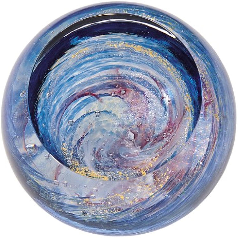 Glass Eye Studio Milky Way Blown Glass Paperweight