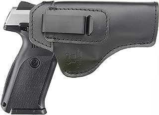 IWB Holster Fits: Ruger SR Series SR9/SR40/SR45(Full Size)- Inside Waistband Concealed Carry Pistols Holster -Right Hand Draw