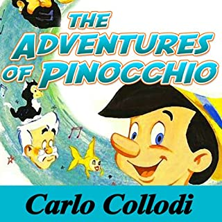 Adventures of Pinocchio audiobook cover art