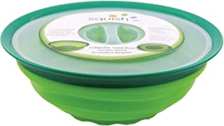 Squish Collapsible Salad Bowl with Lid - 5 Quart Covered Dish