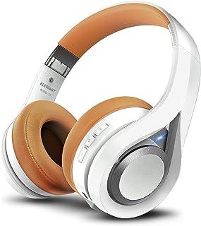 comprar comparacion ELEGIANT Cascos Bluetooth 5.0 Inalámbricos, Auriculares Bluetooth Diadema con Micrófono CVC 6.0 Cancelación Ruido Manos Li...